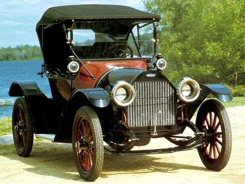 Front/Side  of Chevrolet Model H-2 Royal Mail 2.8 Manual, 24hp, 1914