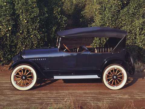 Side  of Chevrolet Model D-5 Touring 4.7 V8 Manual, 51hp, 1918