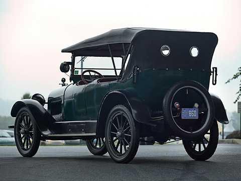 Back/Side of Chevrolet Model D-5 Touring 4.7 V8 Manual, 51hp, 1918