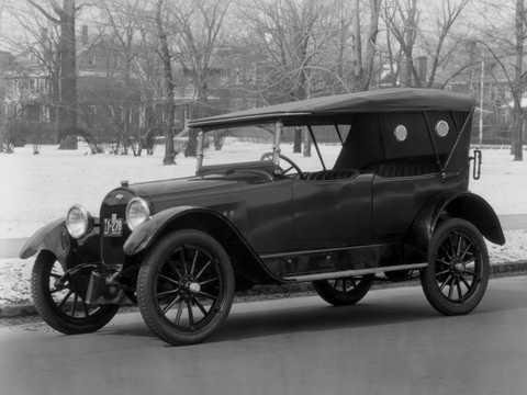 Front/Side  of Chevrolet Model D-5 Touring 4.7 V8 Manual, 51hp, 1918