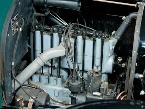 Engine compartment  of Chevrolet 490 Light Delivery 2.8 Manual, 26hp, 1922