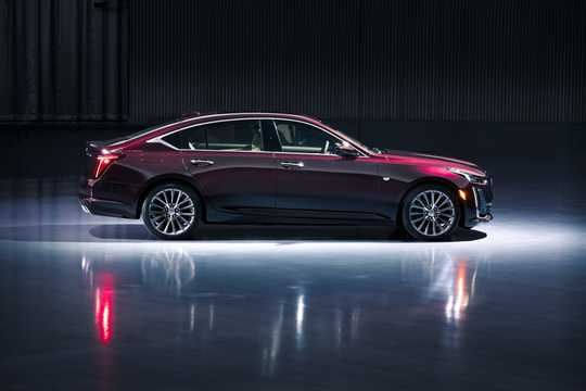 Side  of Cadillac CT5 3.0 V6 Automatic, 340hp, 2020