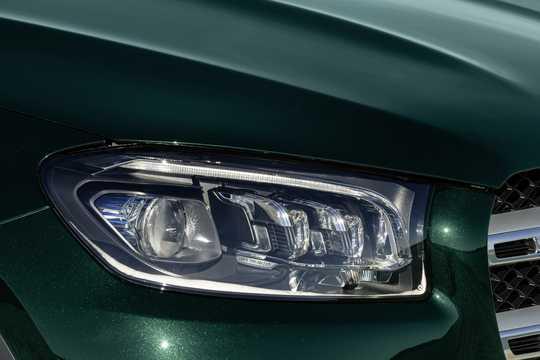 Close-up of Mercedes-Benz GLS-Class 2020