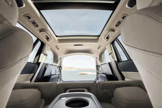 Interior of Mercedes-Benz GLS-Class 2020