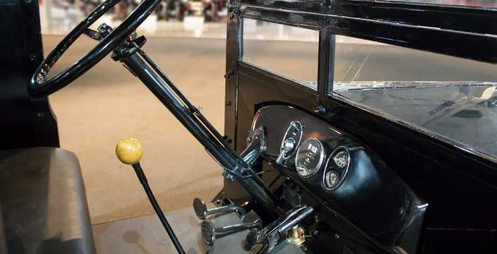 Interior of Chevrolet Superior 1-Ton Utility Express 2.8 Manual, 35hp, 1926