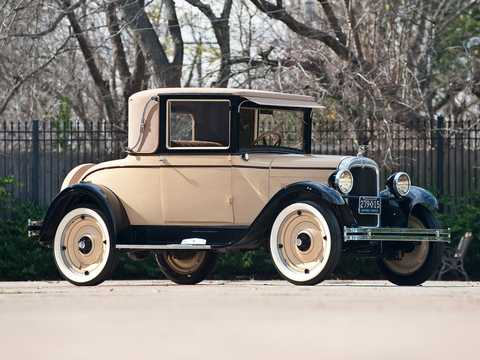 Front/Side  of Chevrolet Capitol Sport Cabriolet 2.8 Manual, 26hp, 1927