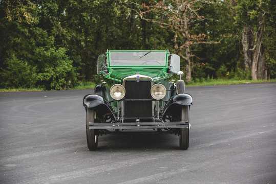 Front  of Chevrolet International Phaeton 3.2 Manual, 47hp, 1929