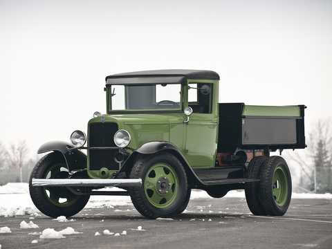 Front/Side  of Chevrolet Model MA 1.5-Ton Chassis 3.2 Manual, 51hp, 1931