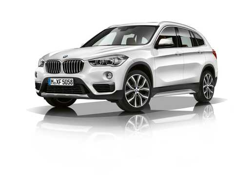 Front/Side  of BMW X1 xDrive25i  Steptronic, 231hp, 2018