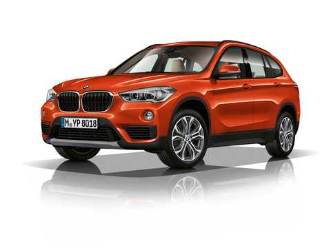 Front/Side  of BMW X1 xDrive20i  Steptronic, 192hp, 2019