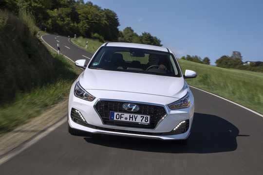 Front  of Hyundai i30 5-door 2019