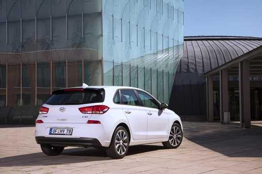 Back/Side of Hyundai i30 5-door 2019