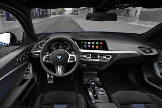 Interior of BMW M135i xDrive  Steptronic, 306hp, 2020
