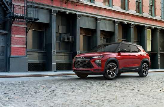 Front/Side  of Chevrolet TrailBlazer 3rd Generation