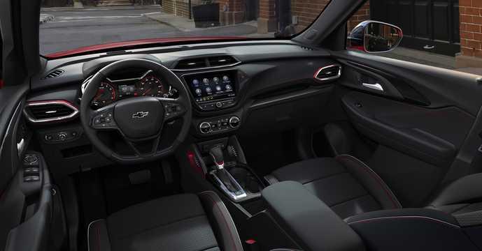 Interior of Chevrolet TrailBlazer 3rd Generation