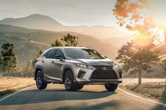 Front/Side  of Lexus RX 350 3.5 V6 AWD Automatic, 301hp, 2020