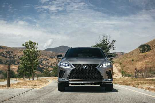 Front  of Lexus RX 350 3.5 V6 AWD Automatic, 301hp, 2020