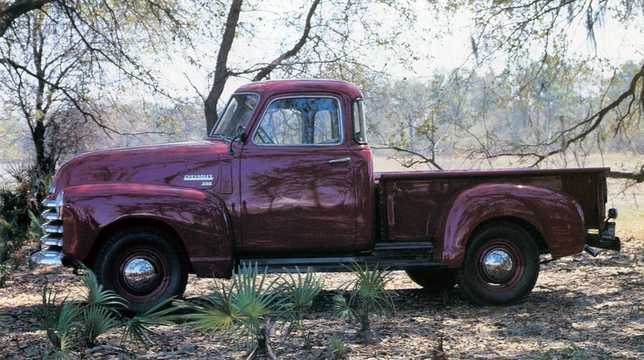 Side  of Chevrolet 3100 3.5 Manual, 91hp, 1949