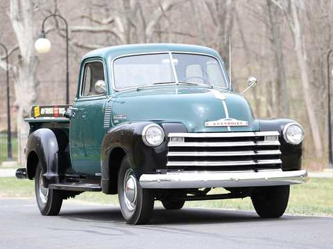 Front/Side  of Chevrolet 3100 3.5 Manual, 91hp, 1949