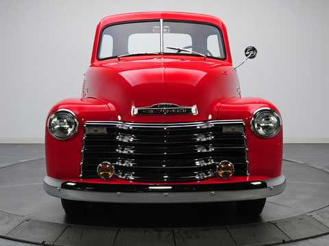 Front  of Chevrolet 3100 3.5 Manual, 91hp, 1949