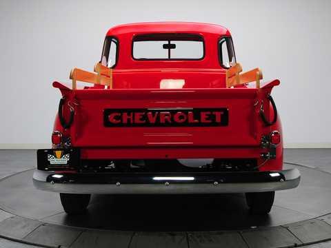 Back of Chevrolet 3100 3.5 Manual, 91hp, 1949