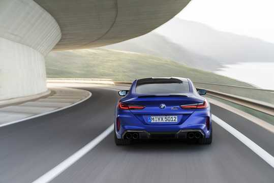 Back of BMW M8 Competition Coupe  Steptronic, 625hp, 2020