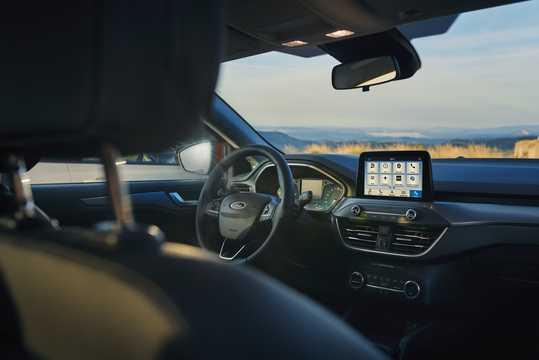 Interior of Ford Focus Active Combi 2018