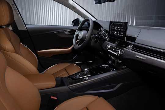 Interior of Audi A4 allroad quattro 2019