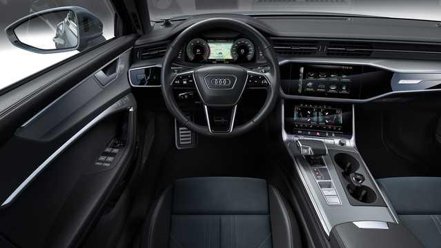 Interior of Audi A6 allroad quattro 2019