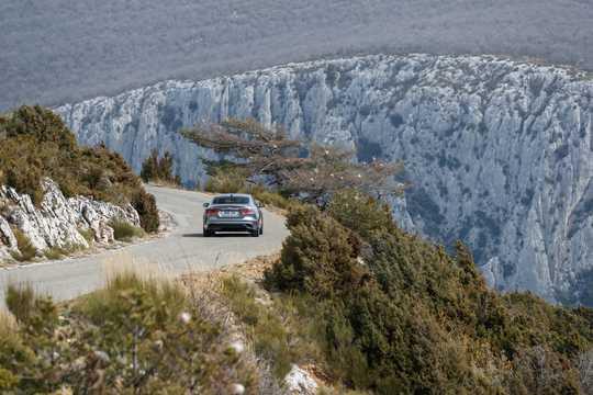Back/Side of Jaguar XE D180  Automatic, 180hp, 2020