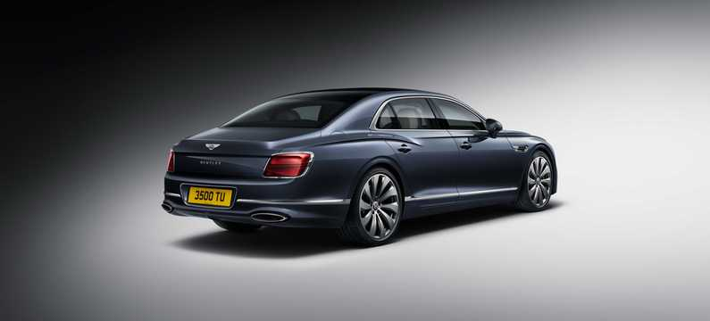 Back/Side of Bentley Flying Spur W12 6.0 W12 Automatic, 635hp, 2020