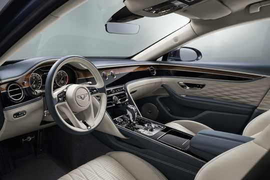 Interior of Bentley Flying Spur W12 6.0 W12 Automatic, 635hp, 2020