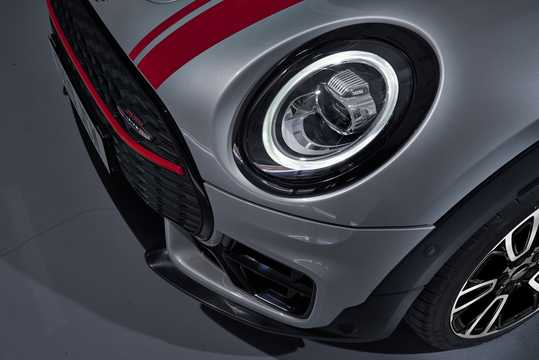 Close-up of MINI John Cooper Works ALL4 Clubman  Steptronic, 306hp, 2019