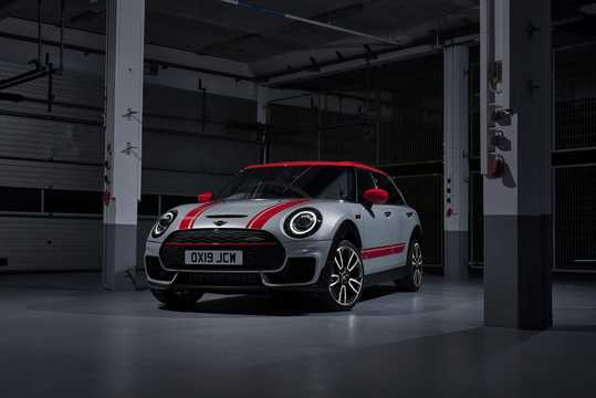 Front/Side  of MINI John Cooper Works ALL4 Clubman  Steptronic, 306hp, 2019