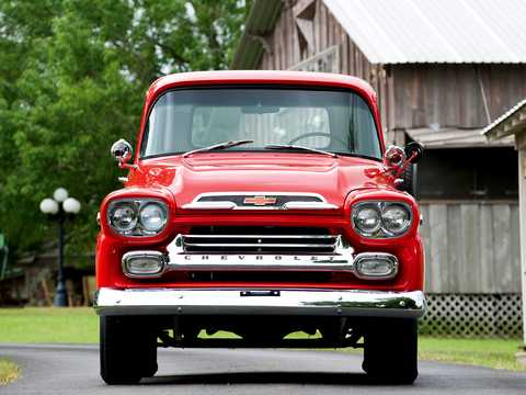 Front  of Chevrolet Apache 31/32 4.6 V8 Manual, 162hp, 1959