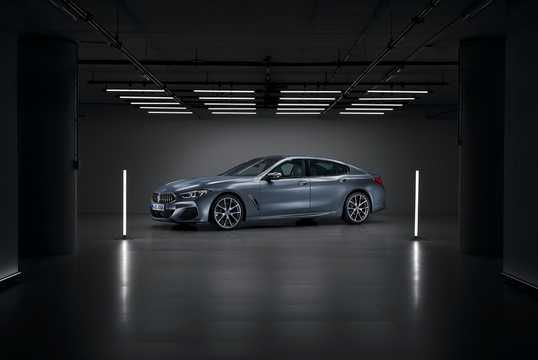 Front/Side  of BMW M850i xDrive Gran Coupe  Steptronic, 530hp, 2020