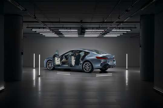 Back/Side of BMW M850i xDrive Gran Coupe  Steptronic, 530hp, 2020
