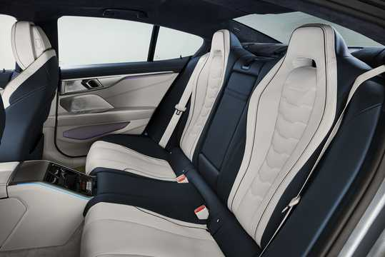 Interior of BMW M850i xDrive Gran Coupe  Steptronic, 530hp, 2020