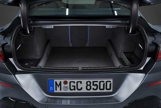 Närbild av BMW M850i xDrive Gran Coupe  Steptronic, 530hk, 2020