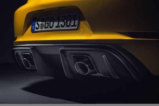 Close-up of Porsche 718 Cayman GT4 4.0 H6 Manual, 420hp, 2019