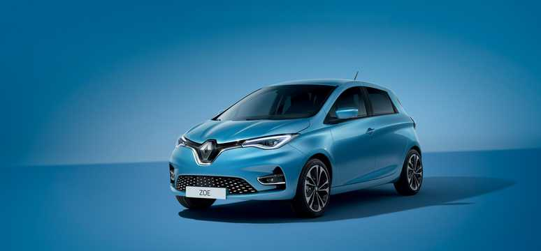 Front/Side  of Renault ZOE 2020