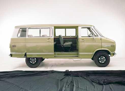 Side  of Chevrolet G20 Sportvan 1973