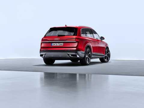 Back/Side of Audi 55 TFSI quattro  TipTronic, 340hp, 2020