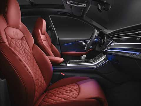 Interior of Audi SQ8 TDI  TipTronic, 435hp, 2020
