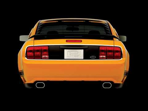 Back of Saleen S302 PJ  Manual, 406hp, 2007