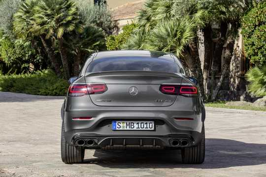 Back of Mercedes-Benz AMG GLC 43 4MATIC Coupé  , 390hp, 2020