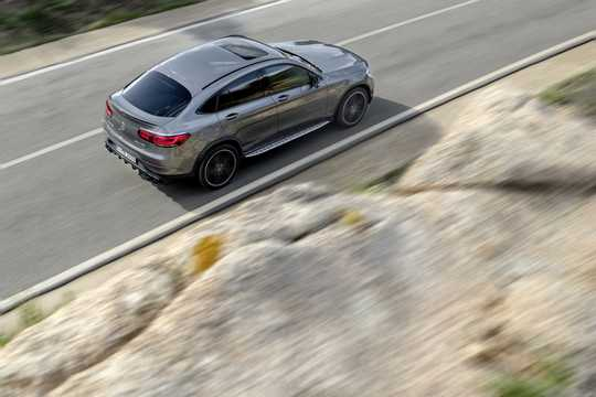 Back/Side of Mercedes-Benz AMG GLC 43 4MATIC Coupé  , 390hp, 2020