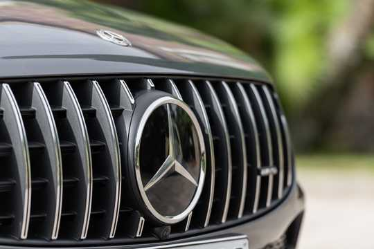 Close-up of Mercedes-Benz AMG GLC 43 4MATIC Coupé  , 390hp, 2020