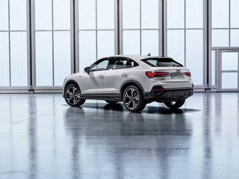 Back/Side of Audi Q3 Sportback 45 TFSI quattro  S Tronic, 230hp, 2020