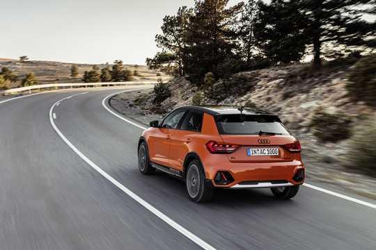 Bak/Sida av Audi A1 citycarver GB